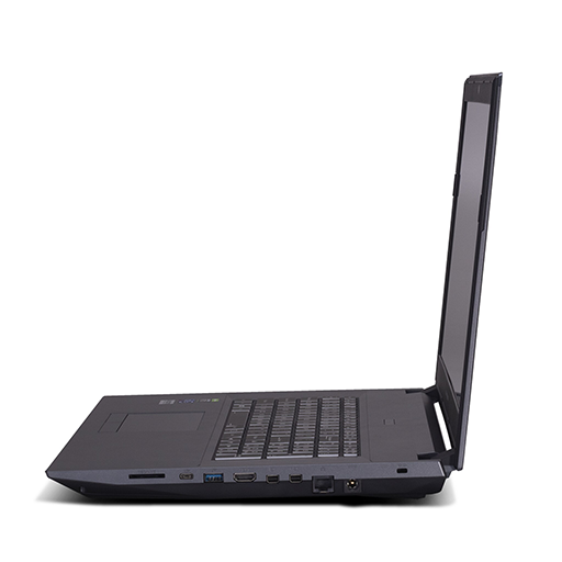Eluktronics N970TF Gaming Laptop Left Side